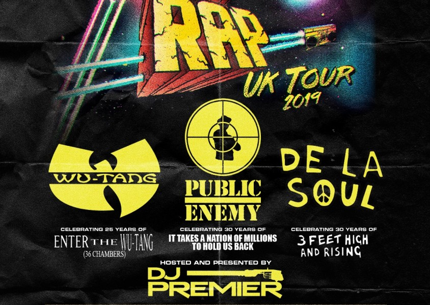 Gods of Rap Tour: Wu Tang Clan + Public Enemy + De La Soul + DJ Premier