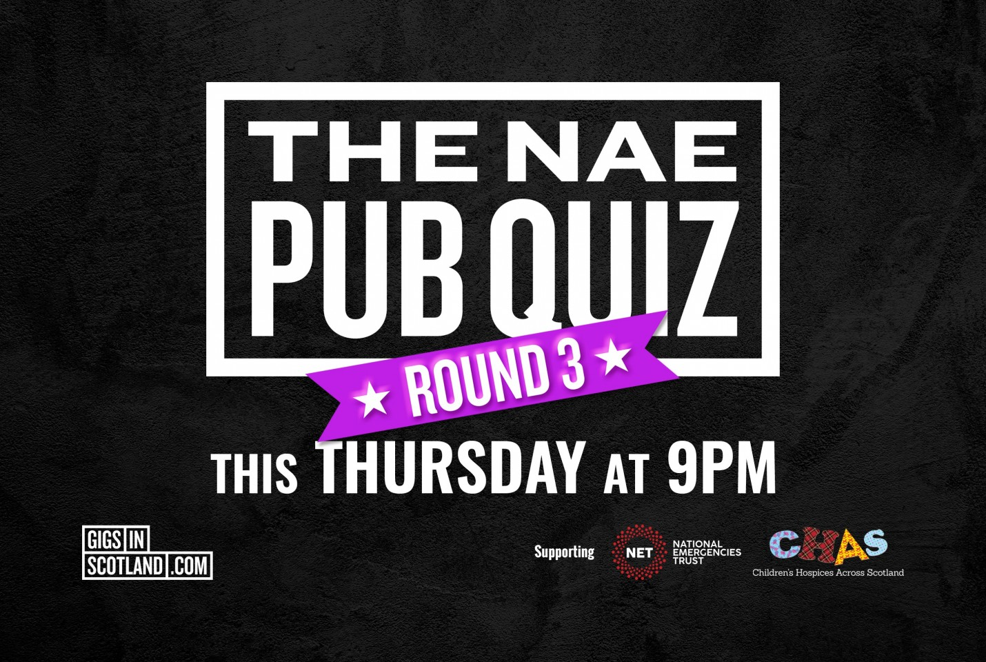 The Nae Pub Quiz: Round Three