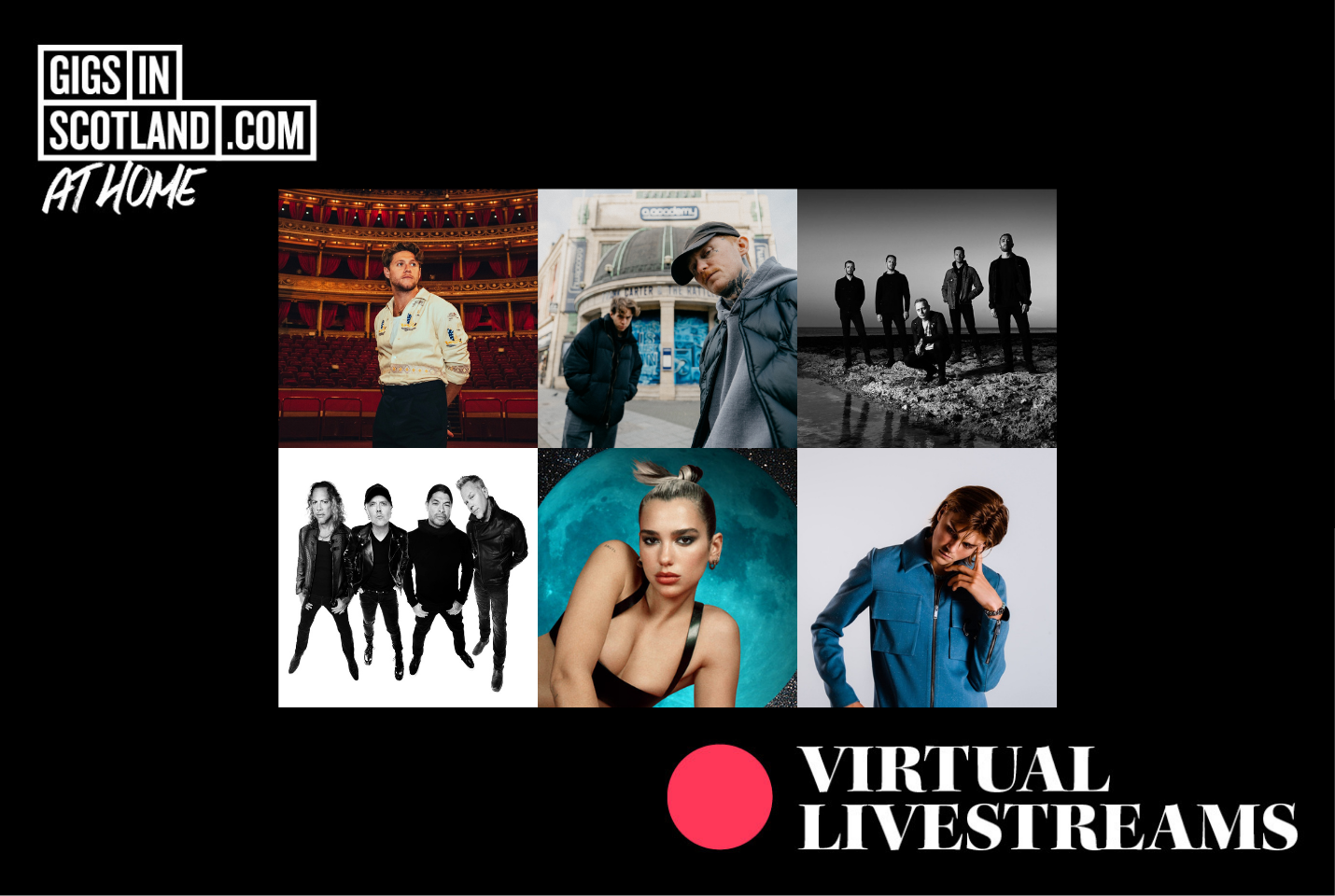 Virtual Gigs Happening This Month