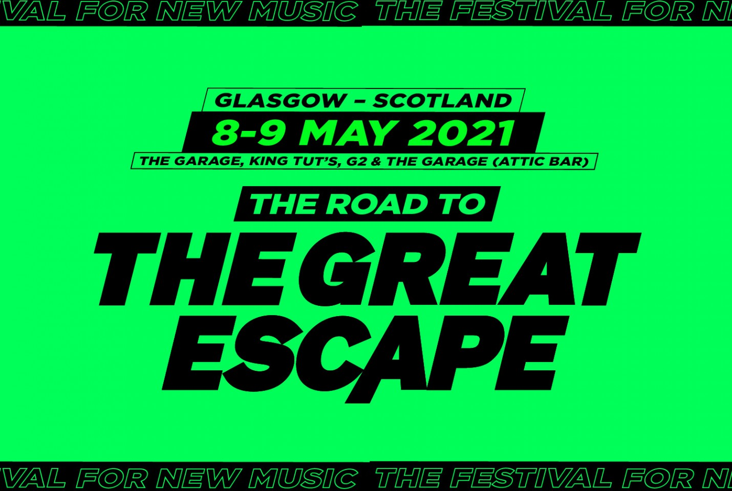 The Road To The Great Escape - First wave of acts announced!