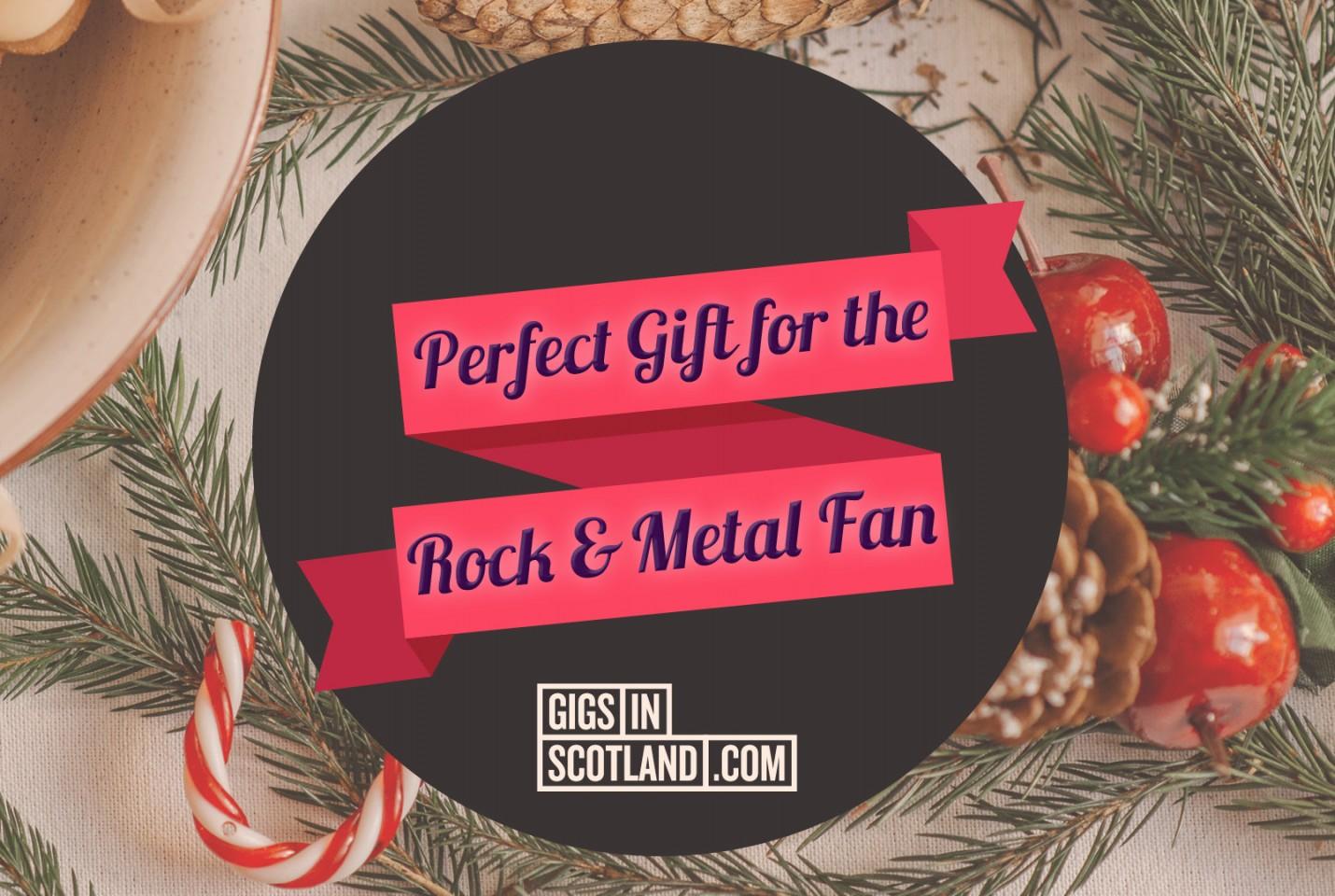 Rock & Heavy Metal Fan - Christmas Gift Guide 2020