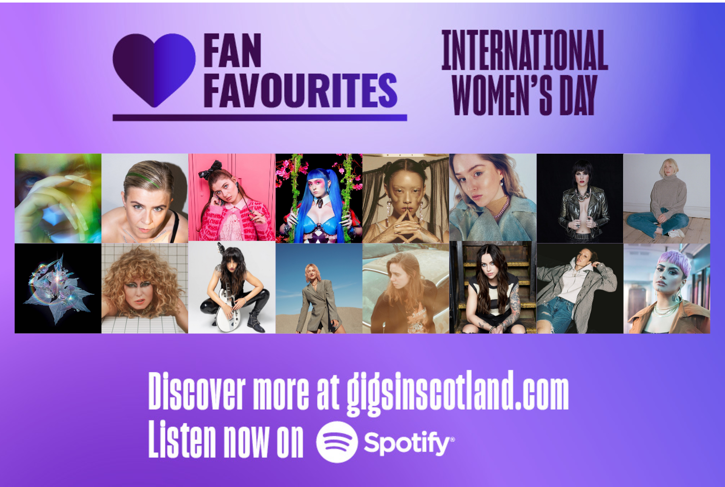 Fan Favourites x International Women's Day